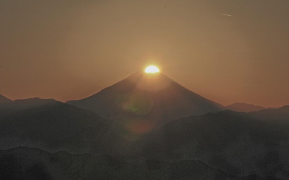 八王子市高尾町ダイヤモンド富士       2013年12月25日撮影_a0150260_221314.jpg