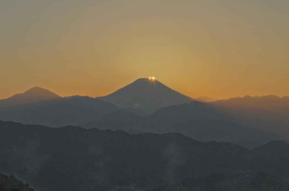 八王子市高尾町ダイヤモンド富士       2013年12月25日撮影_a0150260_2231819.jpg