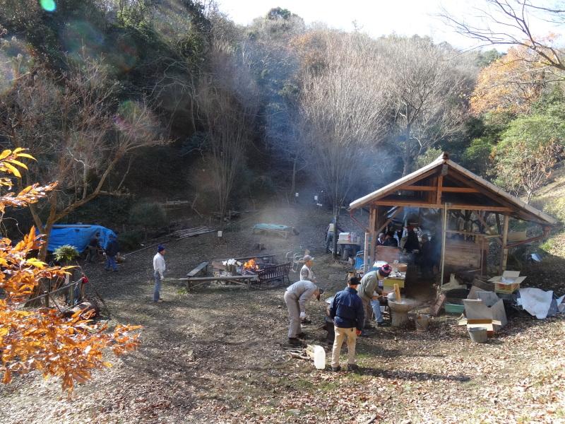孝子の森で望年会_c0108460_23323796.jpg