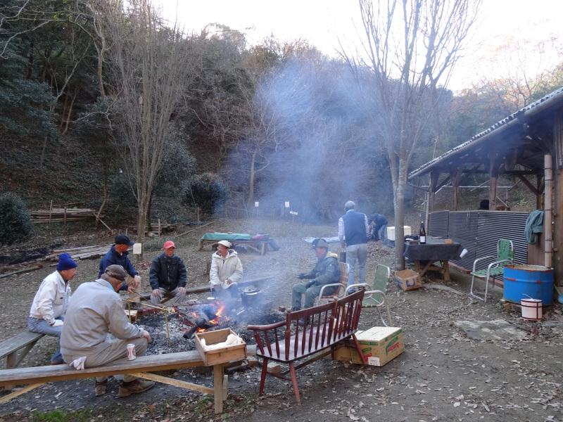 孝子の森で望年会_c0108460_23584912.jpg
