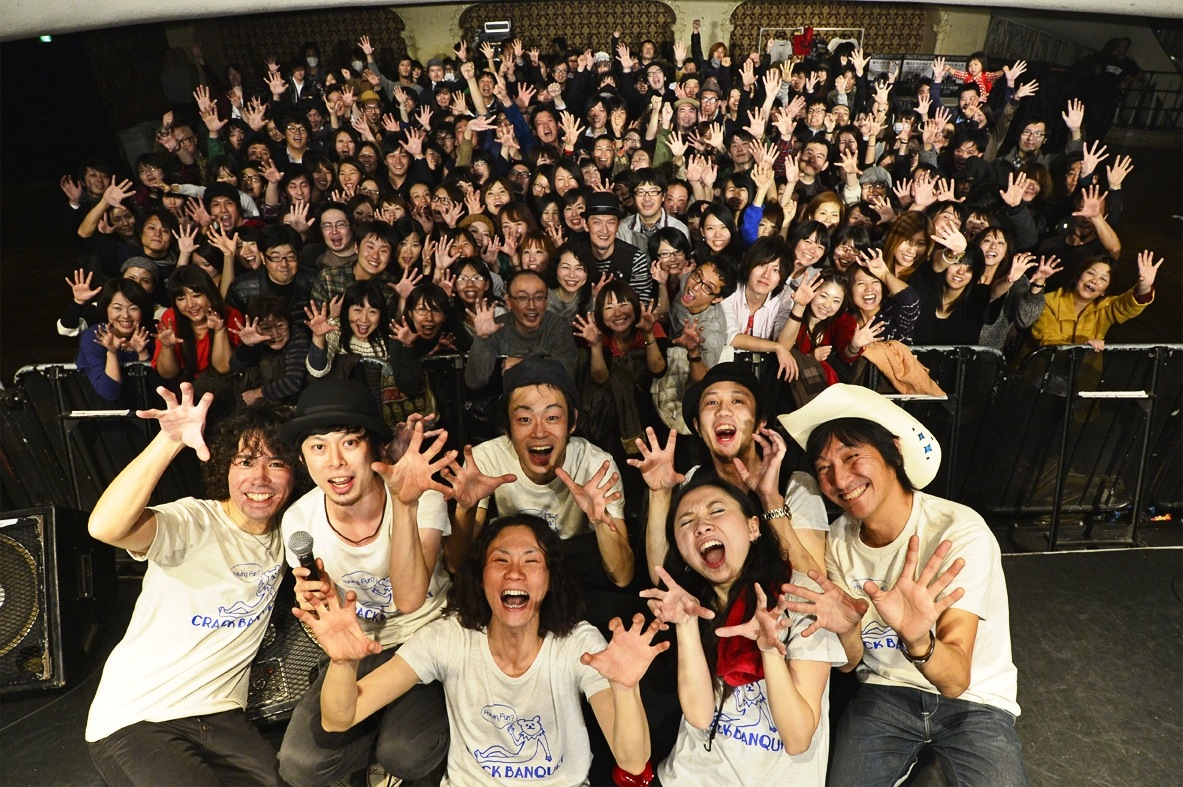 CRACK BANQUET & 三宅伸治BAND_c0227168_181316100.jpg