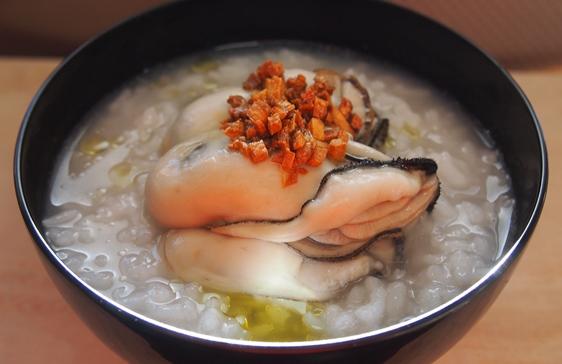 牡蛎お粥_e0148373_10531804.jpg