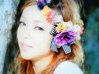 2013.12.30 安室奈美恵さんの花冠のイメージでアシンメトリーに_b0120777_16143404.jpg