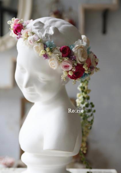 2013.12.30 安室奈美恵さんの花冠のイメージでアシンメトリーに_b0120777_16434787.jpg