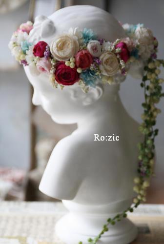 2013.12.30 安室奈美恵さんの花冠のイメージでアシンメトリーに_b0120777_16441323.jpg