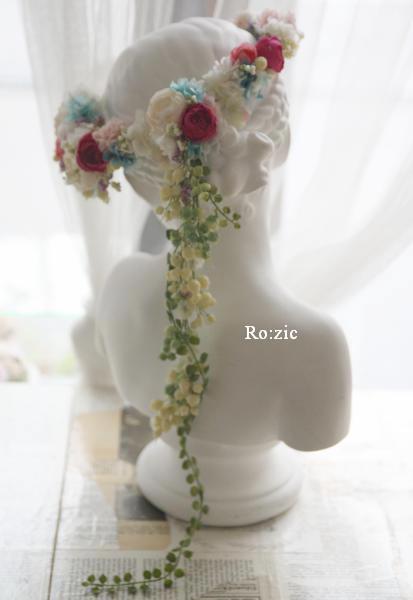 2013.12.30 安室奈美恵さんの花冠のイメージでアシンメトリーに_b0120777_16510126.jpg