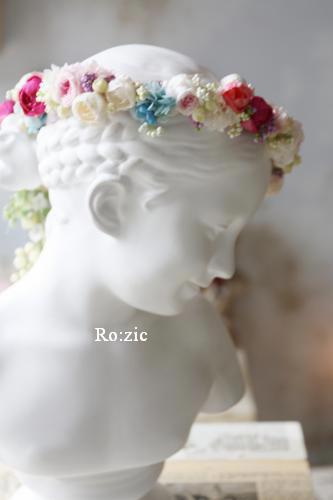 2013.12.30 安室奈美恵さんの花冠のイメージでアシンメトリーに_b0120777_16520781.jpg