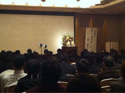 2013年、仕事納めは「愛」の講演!デシタ☆_e0142585_22113819.jpg