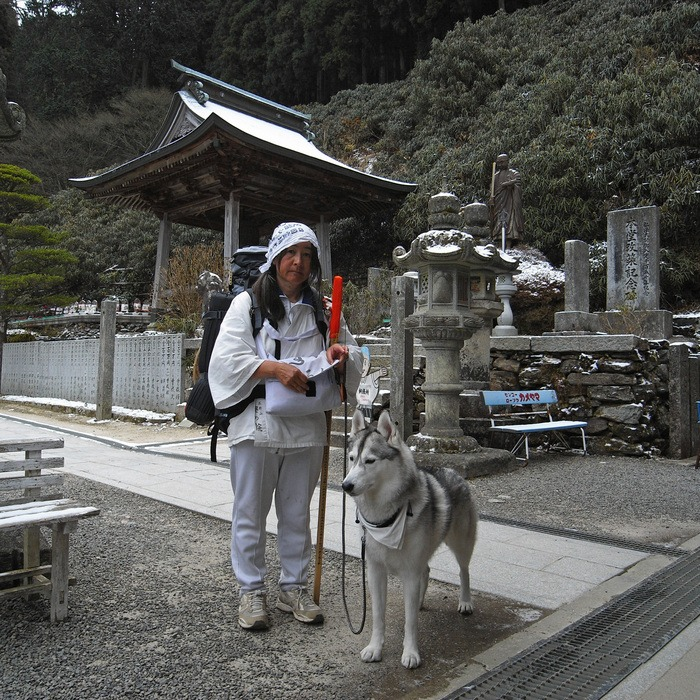 Memory of the second pilgrimage with husky HANA II_c0049299_1936291.jpg