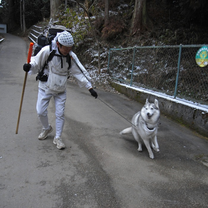 Memory of the second pilgrimage with husky HANA II_c0049299_1941689.jpg