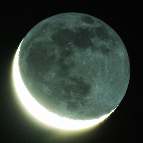 今朝の月(月齢26.8)、ズベンエルゲヌビ(二重星)_e0089232_05580445.jpg