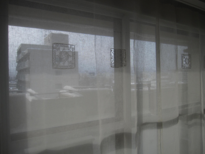 お正月に間に合ったカーテンと豚の角煮_a0279743_1749276.jpg