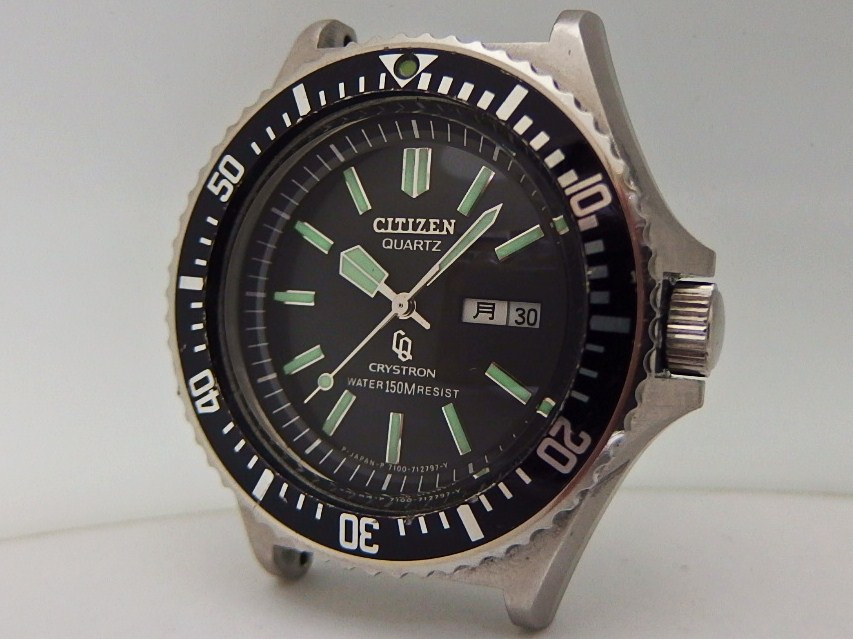 CITIZEN CRYSTRON DIVER_c0126359_17562345.jpg