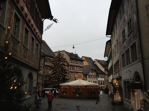 スイスの街Stein am Rheinへ_b0300862_2372254.jpg