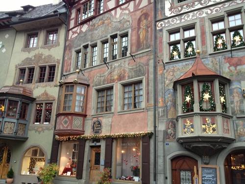 スイスの街Stein am Rheinへ_b0300862_251304.jpg