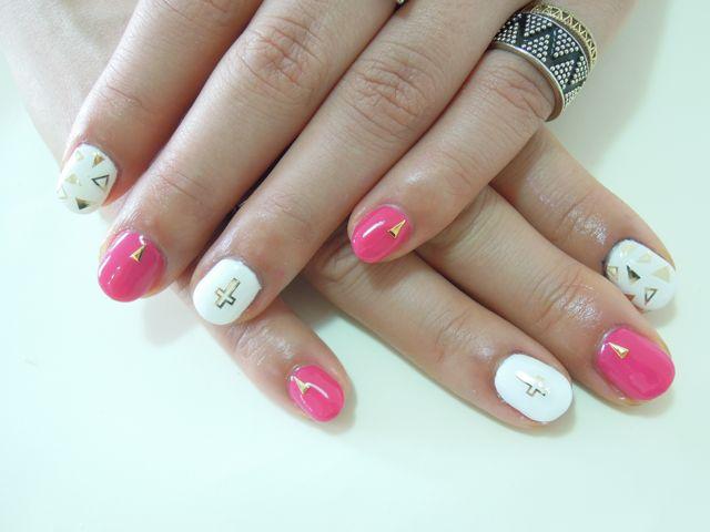 Pink Nail_a0239065_21324294.jpg