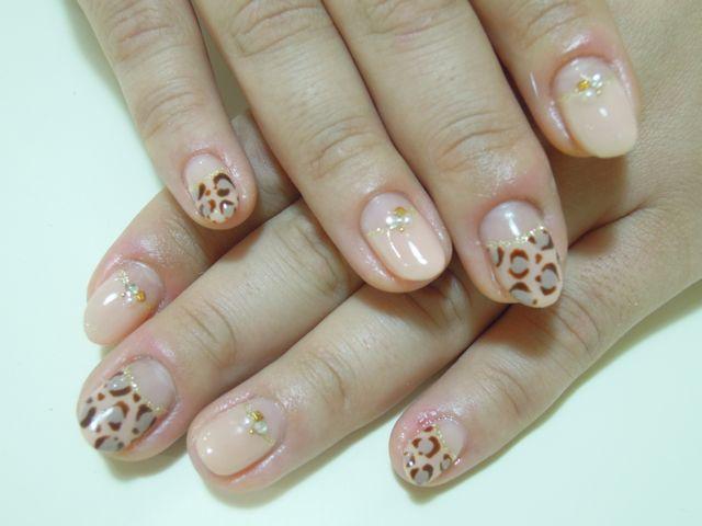 Leopard Nail_a0239065_9574167.jpg