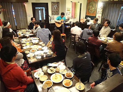 南澤先生を囲んでの「忘年会&ライブ」 2013_c0137404_21115579.jpg