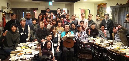 南澤先生を囲んでの「忘年会&ライブ」 2013_c0137404_2113296.jpg