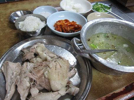 ソウル一人旅2013.5 鶏の水炊き_b0189489_217521.jpg