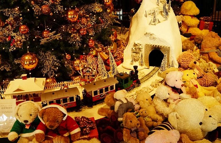 ウェスティンホテル東京のクリスマスイルミネーション_b0145398_21572345.jpg