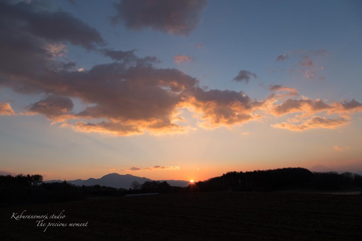 2014 新年の 夜明け 明けましておめでとう!_c0137403_171976.jpg