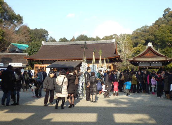 2014初詣2 上賀茂神社_e0048413_19353226.jpg