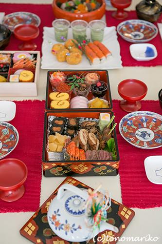 母のおせち料理ではじまるバブー家の2014年_c0024345_1317333.jpg