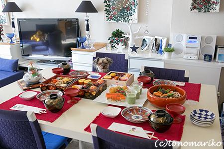 母のおせち料理ではじまるバブー家の2014年_c0024345_13174498.jpg