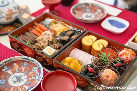 母のおせち料理ではじまるバブー家の2014年_c0024345_13175643.jpg