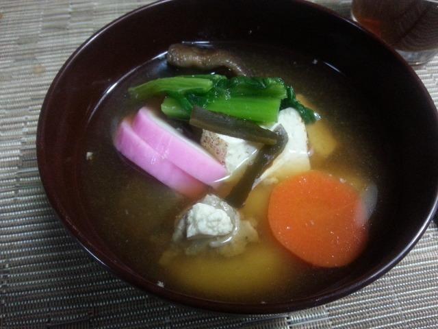 ママのお雑煮_e0114246_5102195.jpg