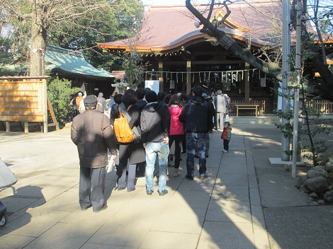 初詣と箱根駅伝_d0183174_1440155.jpg