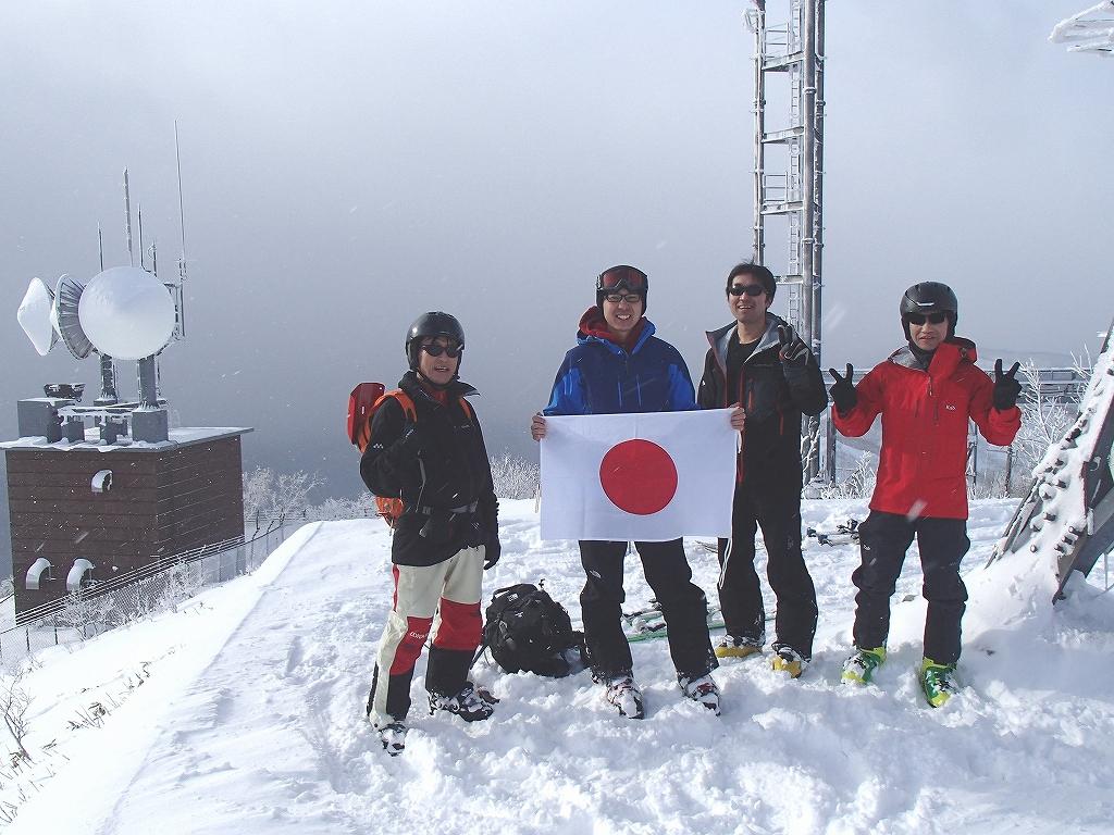 1月2日、紋別岳_f0138096_15292357.jpg