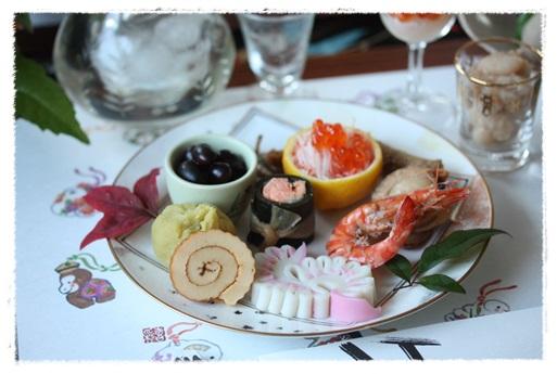 2014おせち料理テーブルコーディネート_b0165178_1823115.jpg