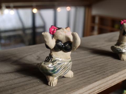 平成の招き猫展 2014 ① @益子 もえぎ_b0116313_2312189.jpg