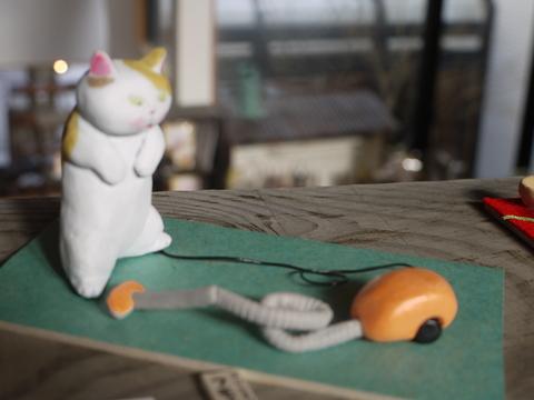 平成の招き猫展 2014 ① @益子 もえぎ_b0116313_2315538.jpg