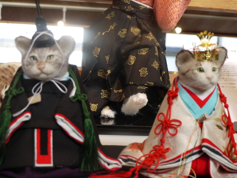 平成の招き猫展 2014 ① @益子 もえぎ_b0116313_2373482.jpg