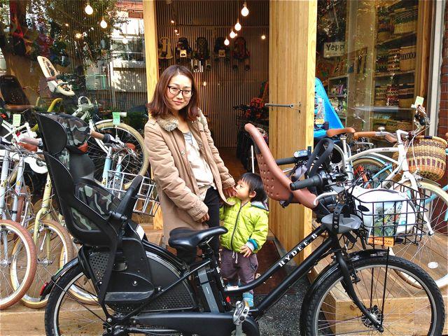 リピトの『バイシクルファミリー』Yepp ビッケ2e ハイディ bikke ママチャリ おしゃれ自転車 mama_b0212032_20151950.jpg