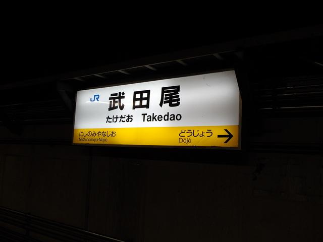 JR福知山線武田尾駅(宝塚線)_c0001670_17234638.jpg