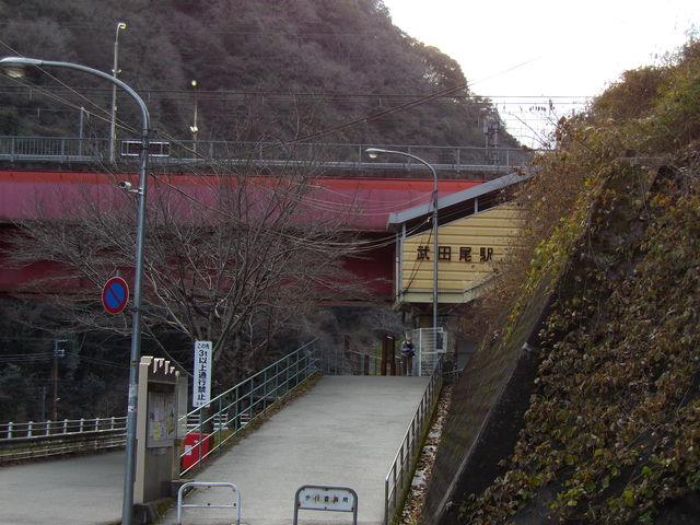 JR福知山線武田尾駅(宝塚線)_c0001670_1725321.jpg