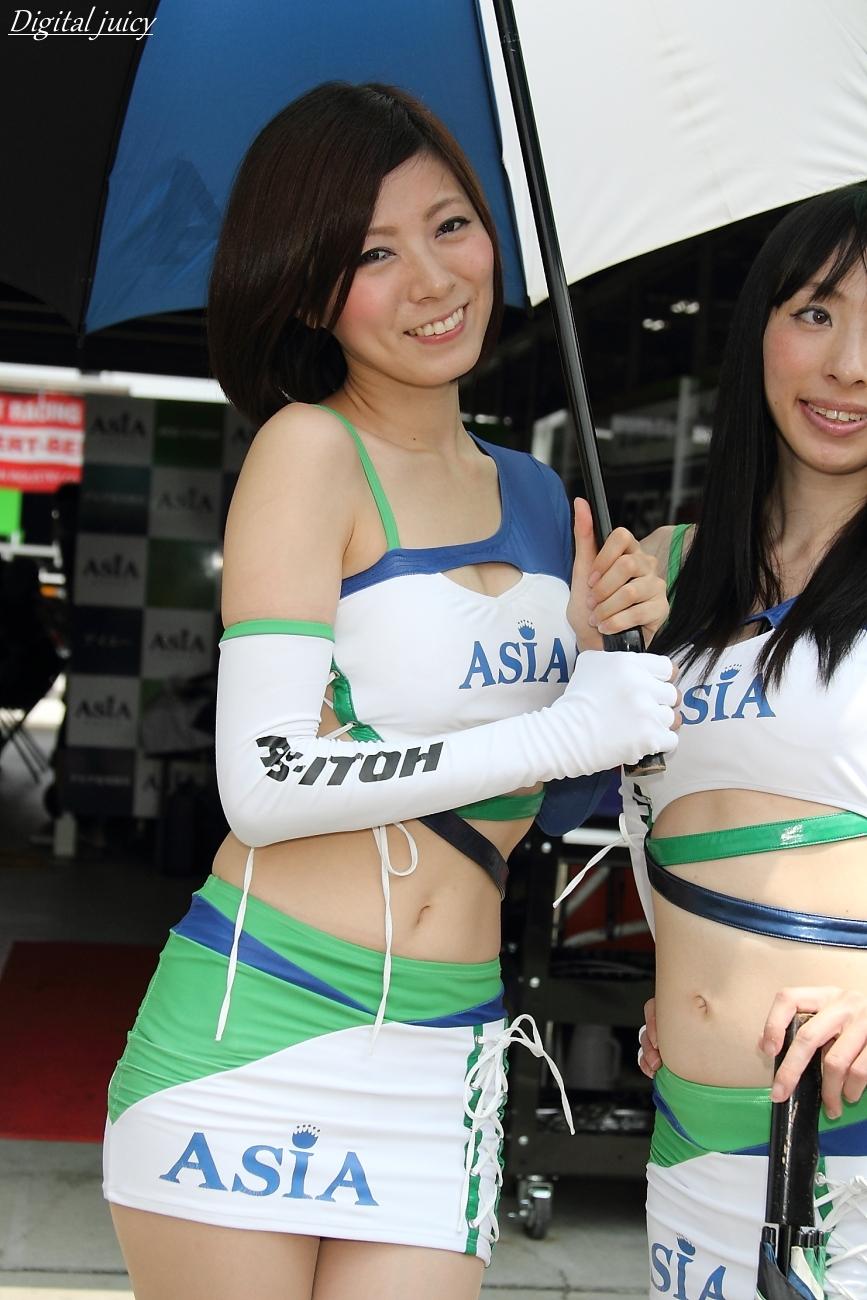 先川知香 さん(RS-ITOH&ASIA ガール)_c0216181_11303463.jpg