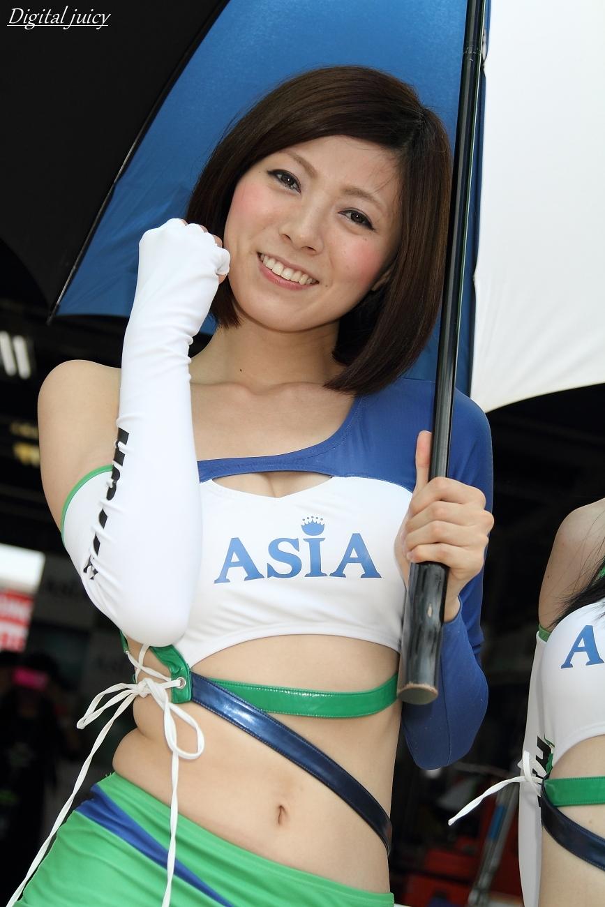 先川知香 さん(RS-ITOH&ASIA ガール)_c0216181_11304455.jpg