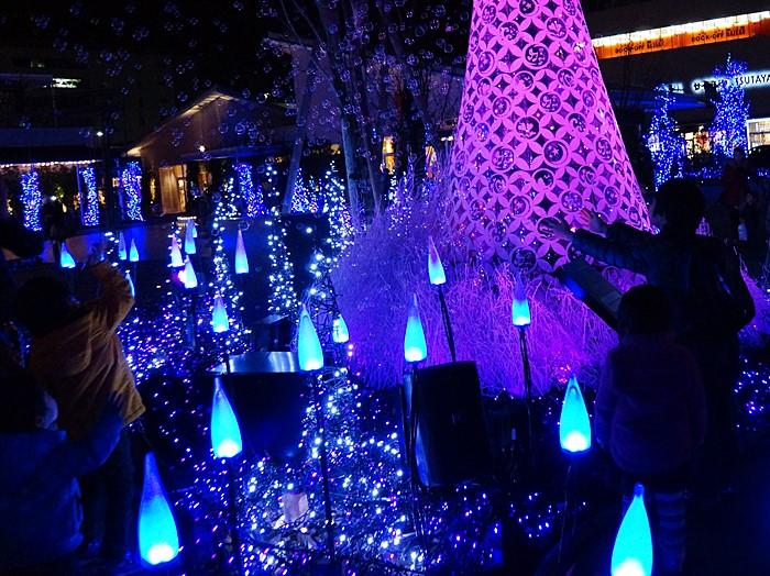 テラスモール湘南のクリスマスイルミネーション2013_b0145398_20584047.jpg