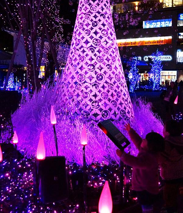 テラスモール湘南のクリスマスイルミネーション2013_b0145398_20584925.jpg