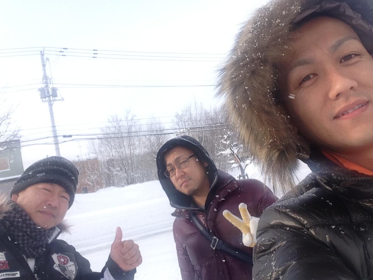 東京オートサロン準備の予定が除雪始めに、明寿ブログ、ランクル200ディーゼル_b0127002_1913793.jpg