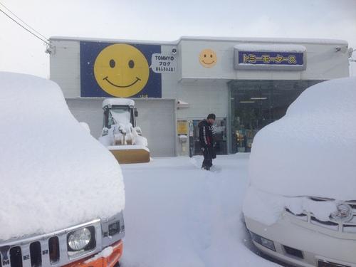 東京オートサロン準備の予定が除雪始めに、明寿ブログ、ランクル200ディーゼル_b0127002_1961912.jpg