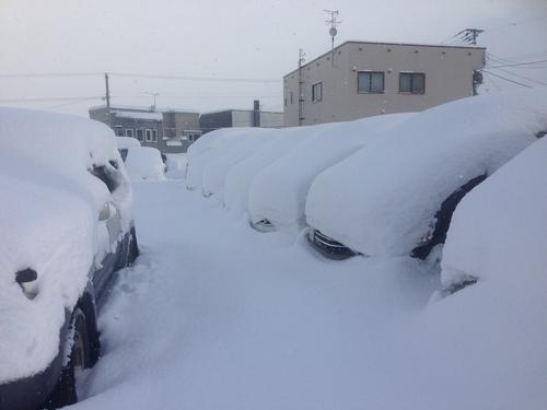 東京オートサロン準備の予定が除雪始めに、明寿ブログ、ランクル200ディーゼル_b0127002_1982276.jpg