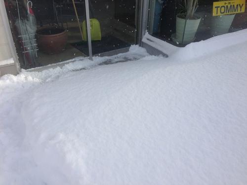 東京オートサロン準備の予定が除雪始めに、明寿ブログ、ランクル200ディーゼル_b0127002_20114780.jpg