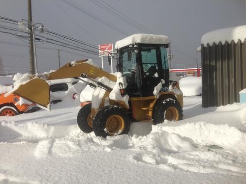 東京オートサロン準備の予定が除雪始めに、明寿ブログ、ランクル200ディーゼル_b0127002_20142745.jpg