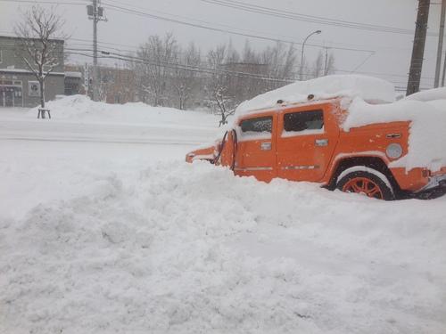 東京オートサロン準備の予定が除雪始めに、明寿ブログ、ランクル200ディーゼル_b0127002_20273549.jpg